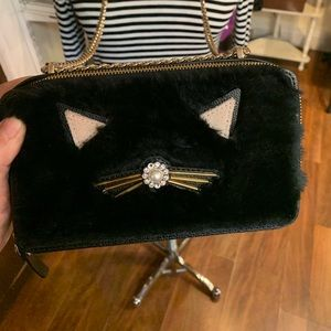Kate Spade Faux Fur Kitty Purse